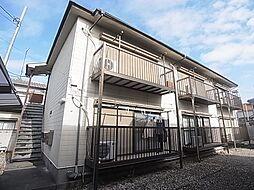 東京都足立区梅田5丁目の賃貸アパートの外観