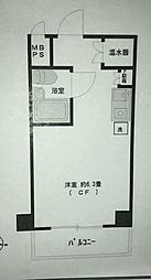 日興パレス横浜[7階]の間取り