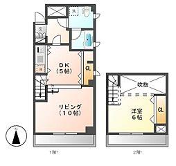 hinata higashiyama(ヒナタヒガシヤマ)[7階]の間取り