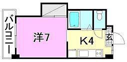 ミラハイツ枝松[104 号室号室]の間取り