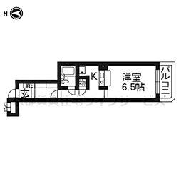 グランドムール四条大宮305[3階]の間取り