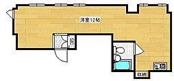 S−ONEマンション[5階]の間取り