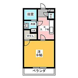 アスリート2[1階]の間取り