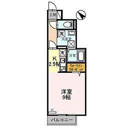 D−room射水市片口[1階]の間取り