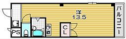 サンローゼ2号館[305号室]の間取り