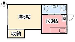 勝山町駅 2.1万円