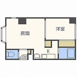 北海道札幌市白石区菊水三条1丁目の賃貸アパートの間取り