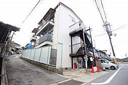 京都府京都市山科区八軒屋敷町の賃貸アパートの外観
