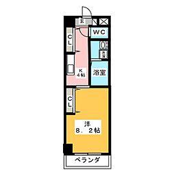 CAPITAL11キャピタル イレブン[1階]の間取り