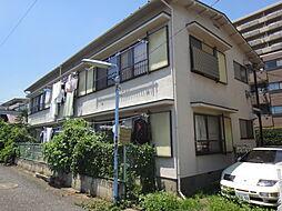 東京都目黒区上目黒5丁目の賃貸アパートの外観