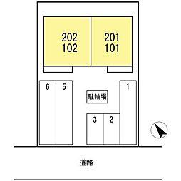 D-room刈谷市小垣江[101号室]の外観