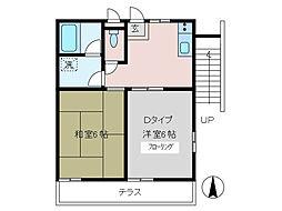 イナタケハウス[1階]の間取り