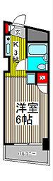 スカイコート西川口第2[5階]の間取り