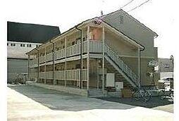 福岡県大川市大字一木の賃貸アパートの外観