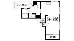 湊川パークハイツ[9階]の間取り