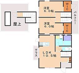 フォレストビューノタメ[3階]の間取り