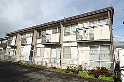 長野県長野市金井田の賃貸アパートの外観