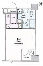 クオーツマンション7階Fの間取り画像