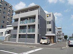 北海道札幌市北区北二十一条西3丁目の賃貸マンションの外観