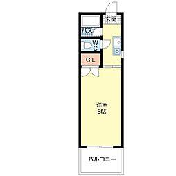 東洋プラザ大阪港1[3階]の間取り
