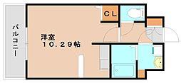 クレアーレ大野城[5階]の間取り