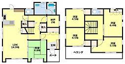 [一戸建] 愛知県豊田市中根町小訳 の賃貸【/】の間取り