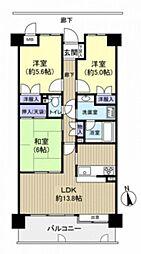 古江パーク・ホームズ(412)[5階]の間取り