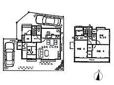 H号棟建物プラン 建物価格1、060万円(税込)