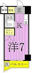 エレガンス綾瀬VI[8階]の間取り