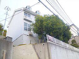 兵庫県宝塚市平井山荘の賃貸アパートの外観