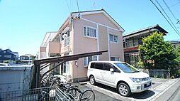 静岡県静岡市駿河区富士見台1丁目の賃貸アパートの外観
