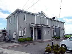 和歌山県岩出市中島の賃貸マンションの外観