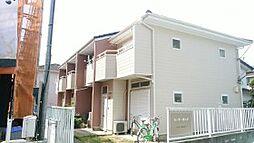 千葉県松戸市中和倉の賃貸アパートの外観