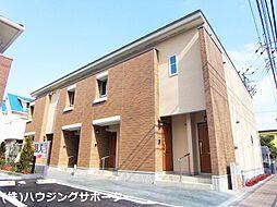 東京都八王子市台町3丁目の賃貸アパートの外観