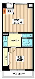 アビイマンション[6階]の間取り