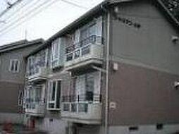 神奈川県横浜市中区滝之上の賃貸アパートの外観