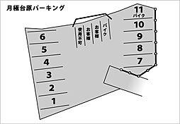 台原駅 0.8万円