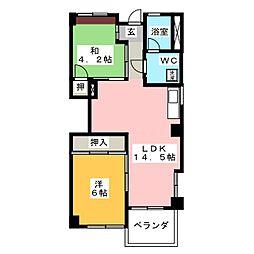 タウンハウス78'[1階]の間取り
