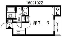 沢之町駅前88マンション[3階]の間取り
