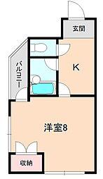 メゾン阪本[403号室]の間取り