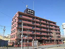 埼玉県東松山市新宿町の賃貸マンションの外観