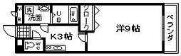 ディアコート[202号室]の間取り