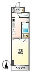 ラヴィアン名駅[3階]の間取り