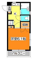 ハイム・ワン[2階]の間取り