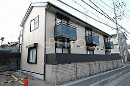 京都府京都市左京区松ケ崎泉川町の賃貸アパートの外観