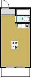 プレアール夕凪[3階]の間取り