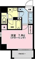 東京都江東区新大橋2の賃貸マンションの間取り