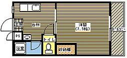 ジョイフル21[201号室]の間取り