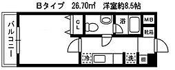 ソナーレ・W[702号室]の間取り