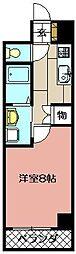 エクセレント藤[102号室]の間取り
